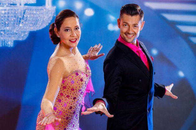 Monica Weinzettl - Florian Gschaider Dancing Stars 28.4.2017
