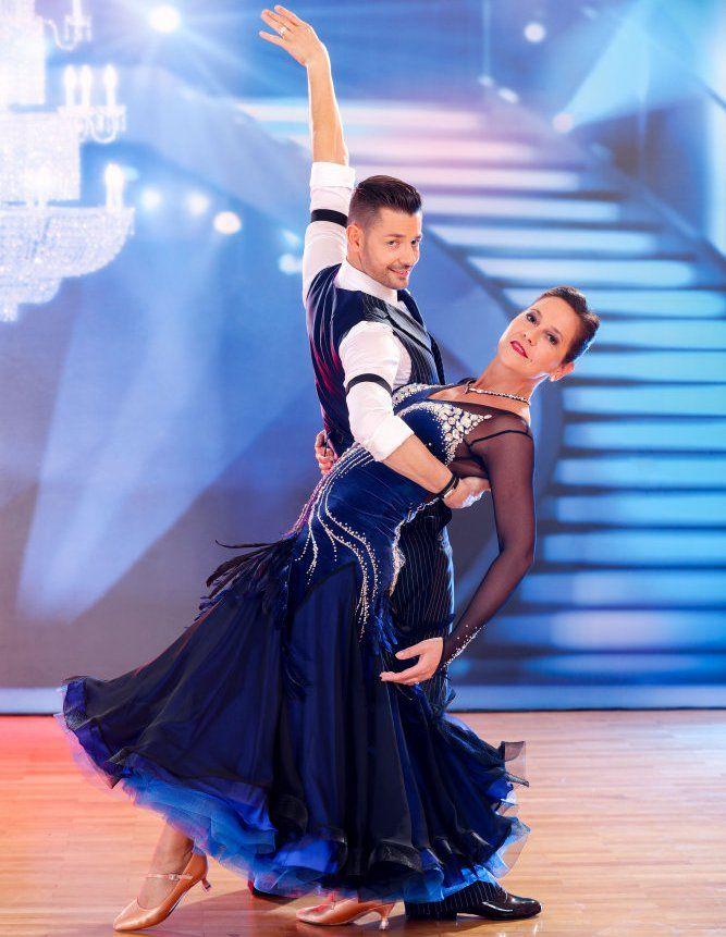 Monica Weinzettl - Florian Gschaider bei den Dancing Stars am 15.4.2017