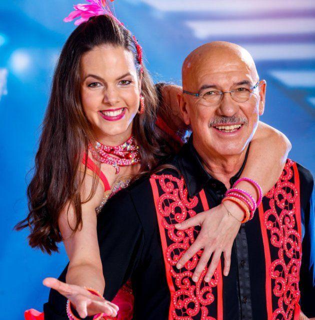 Otto Retzer - Rosi Wieland bei den Dancing Stars am 28.4.2017