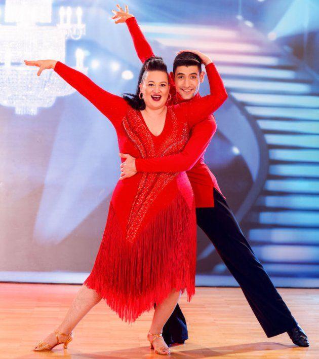 Riem Higazi - Dimitar Stefanin bei den Dancing Stars am 15.4.2017