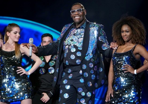 Alphonos Williams am 6.5.2017 im Finale DSDS 2017