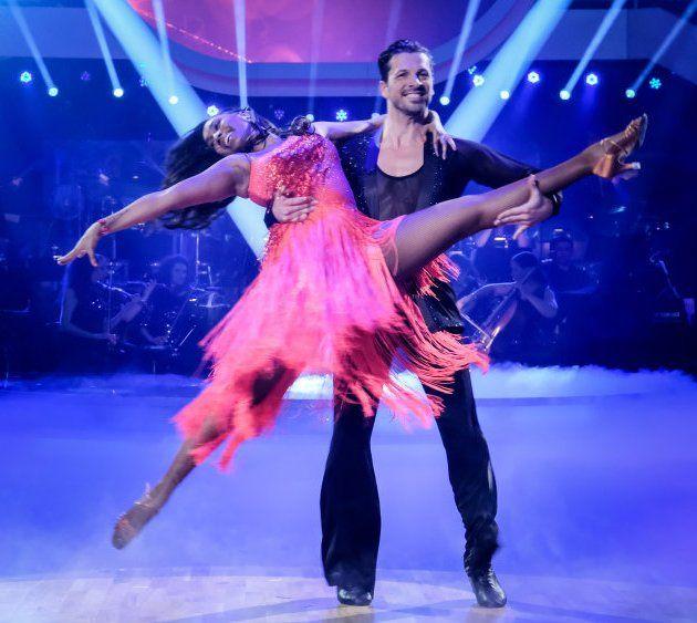Ana Milva Gomes - Thomas Kraml bei den Dancing Stars am 12.5.2017