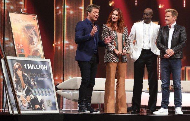 Andrea Berg in der Dieter Bohlen Show am 20.5.2017