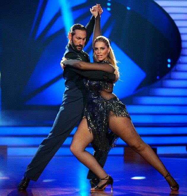 Angelina Kirsch - Massimo Sinato bei Let's dance am 26.5.2017