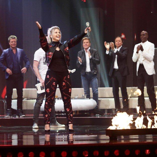 Beatrice Egli in der Dieter Bohlen Show am 20.5.2017