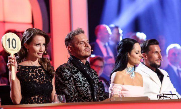 Karina Sarkissova, Dirk Heidemann, Nicole Hansen, Balazs Ekker - Dancing Stars 12.5.2017