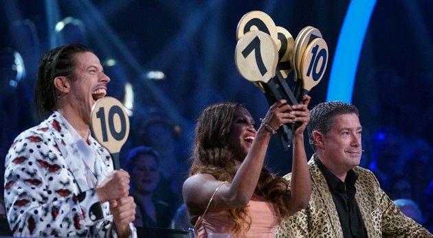 Let's dance Jury im Punkte-Wahn bei Let's dance am 12.5.2017