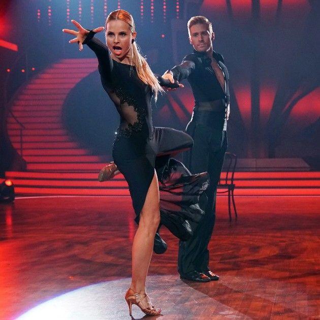 Maxi Arland - Sarah Latton - Tango bei Let's dance am 12.5.2017