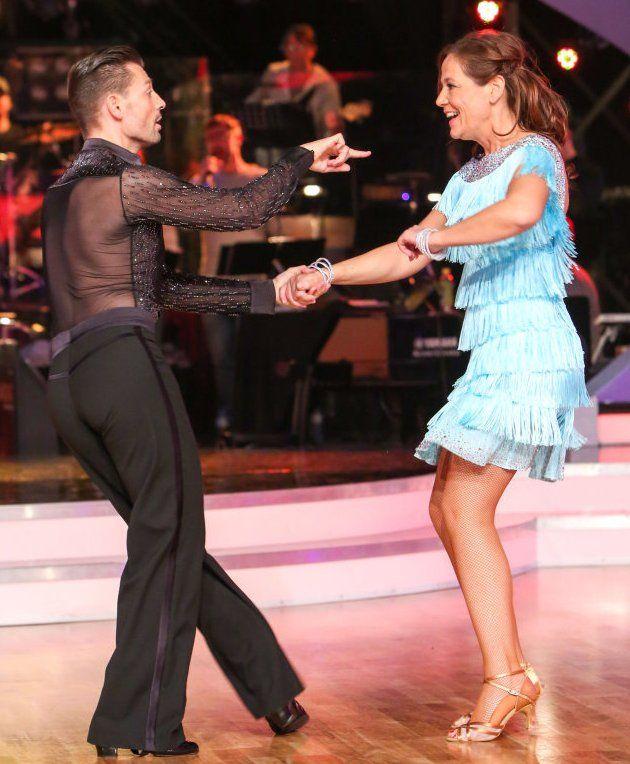 Monica Weinzettl - Florian Gschaider bei den Dancing Stars am 5.5.2017