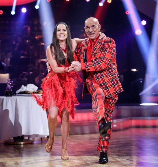 Otto Retzer - Roswitha Wieland bei den Dancing Stars am 12.5.2017
