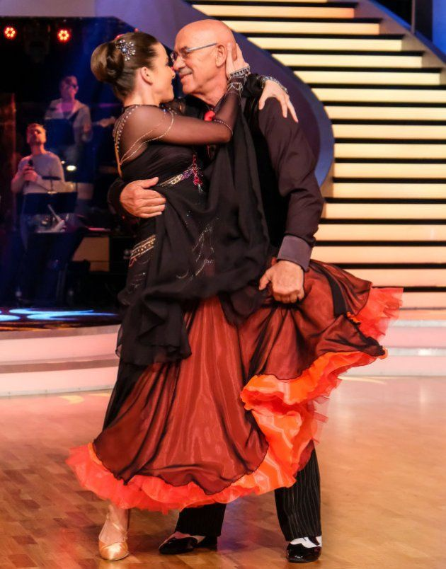 Otto Retzer - Roswitha Wieland bei den Dancing Stars am 5.5.2017