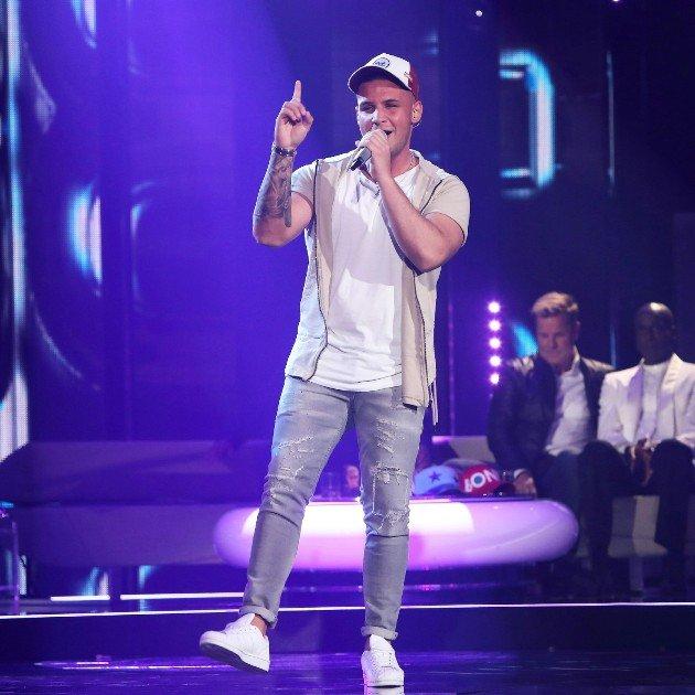 Pietro Lombardi in der Dieter Bohlen Show am 20.5.2017