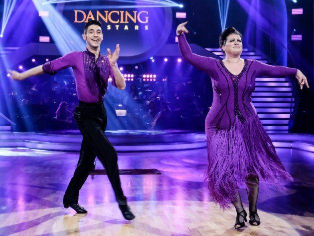Riem Higazi - Dimitar Stefanin bei den Dancing Stars am 12.5.2017