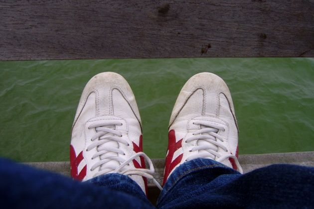 Sneaker sind meist zum Tanzen geeignete Schuhe