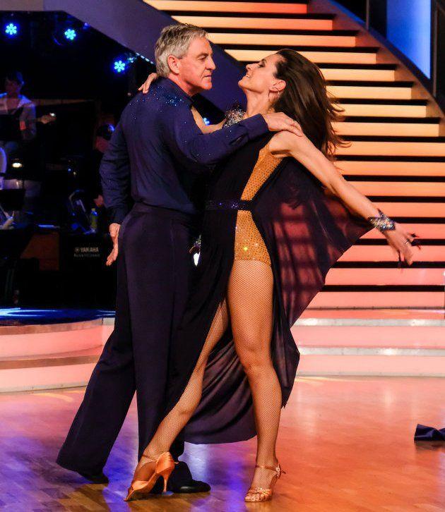Walter Schachner - Lenka Pohoralek bei den Dancing Stars am 5.5.2017
