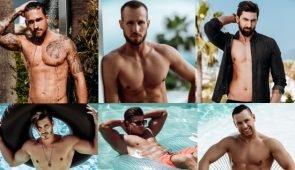 Bachelorette Kandidanten 2017 am Strand