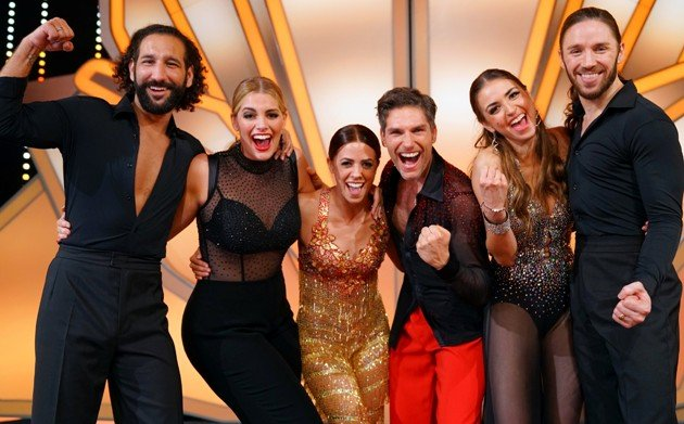 Diese Paare sind im Finale Let's dance 2017 - Massimo Sinato, Angelina Kirsch, Vanessa Mai, Christian Polanc, Ekaterina Leonova und Gil Ofarim