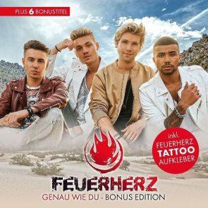 Feuerherz Bonus Edition der CD Genau wie Du