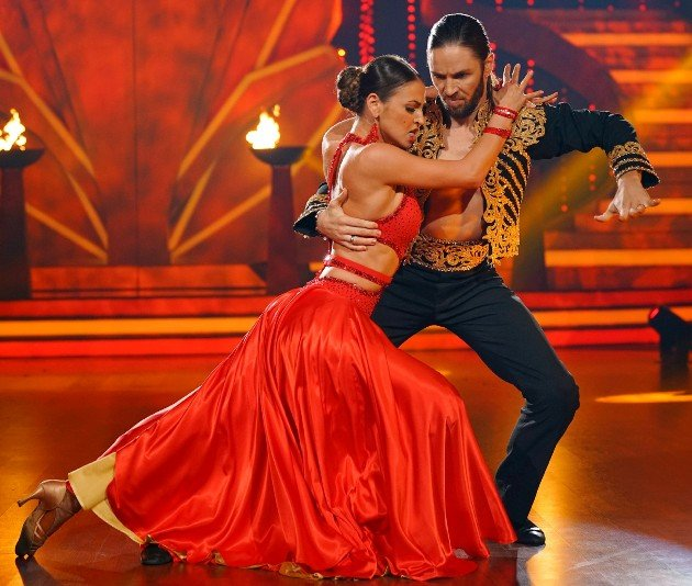 Gil Ofarim - Ekaterina Leonova bei Paso doble bei Let's dance 2.6.2017
