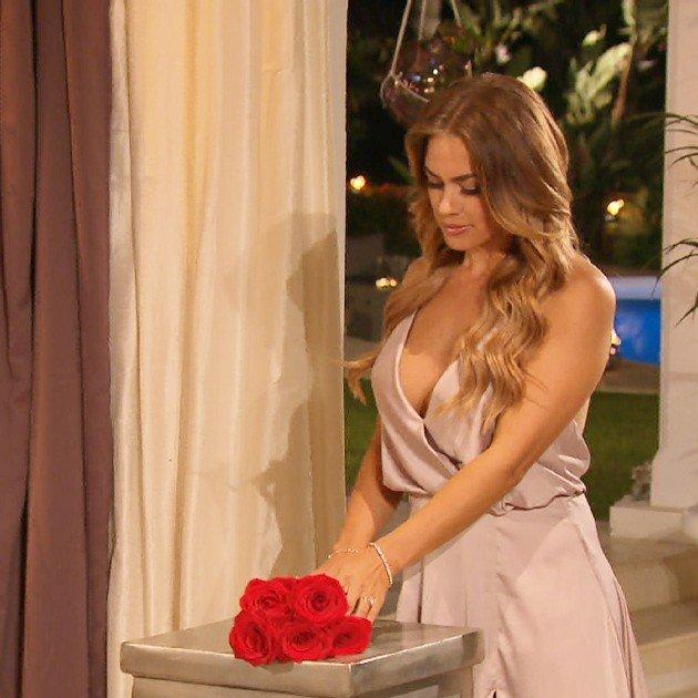Jessica bei der Bachelorette am 12.7.2017