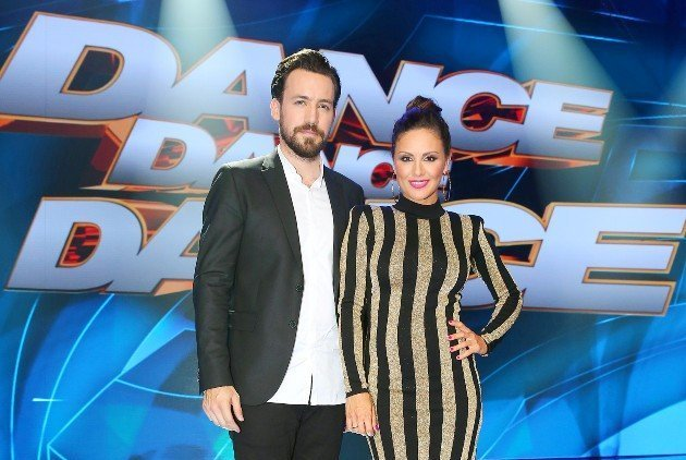 Nazan Eckes und Jan Köppen Dance Dance Dance 2017 Moderatoren