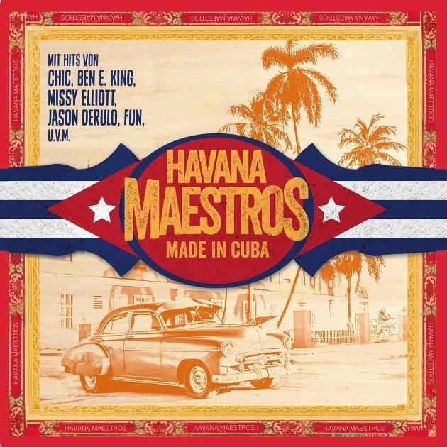 Salsa-CD Havana Maestros - Neue Cross over Salsa-CD