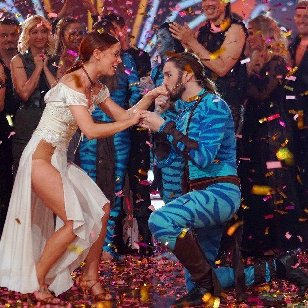 Vanessa Mai und Gil Ofarim im Finale Let's dance 2017 am 9.6.2017