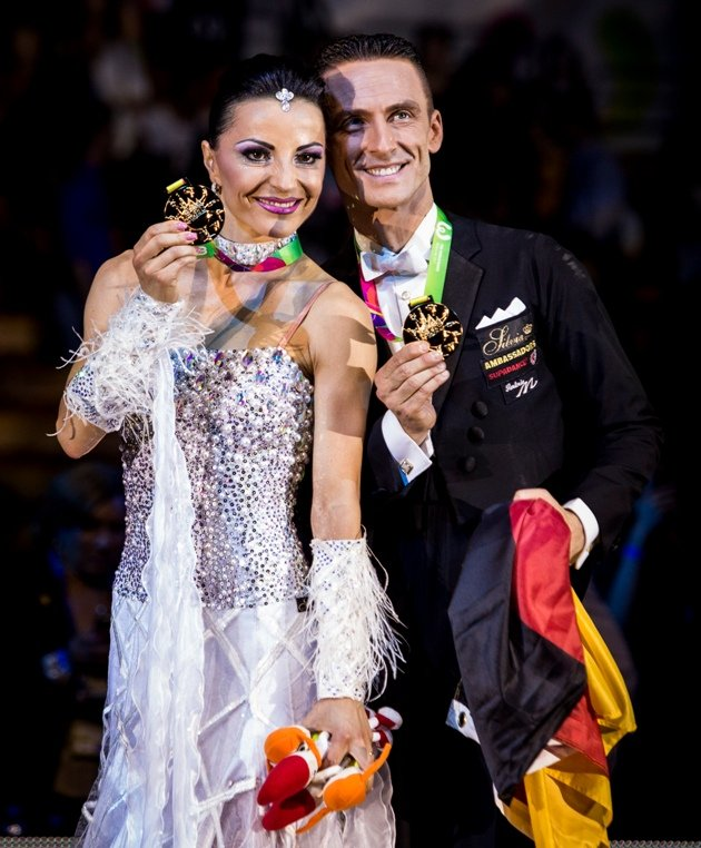 Claudia Köhler - Benedetto Ferruggia - Sieger-Foto World Games 2017