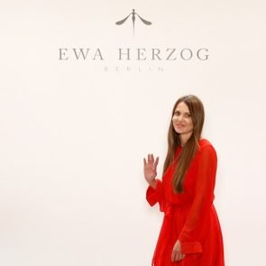 Ewa Herzog zur Fashion Week Berlin Juli 2017