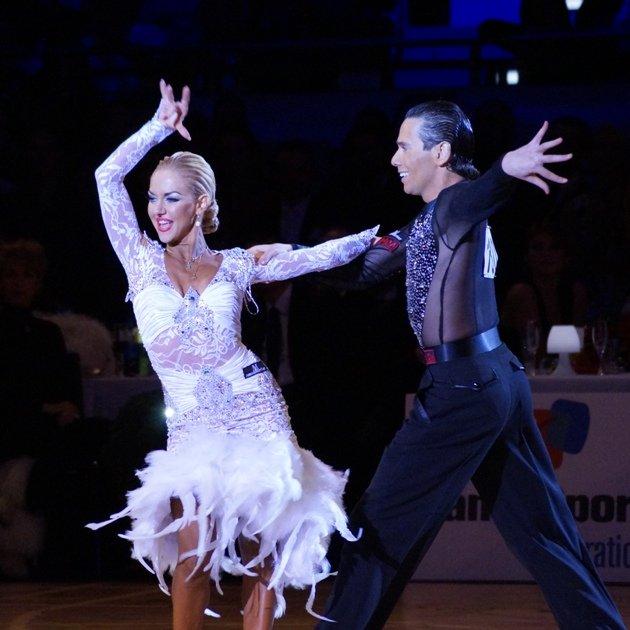 Latein-Tänze bei den World Games 2017 - Armen Tsaturyan - Svetlana Gudyno