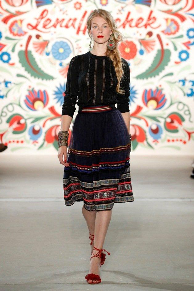 Lena Hoschek Mode Sommer 2018 Fashion Week Berlin Juli 2017 - 3