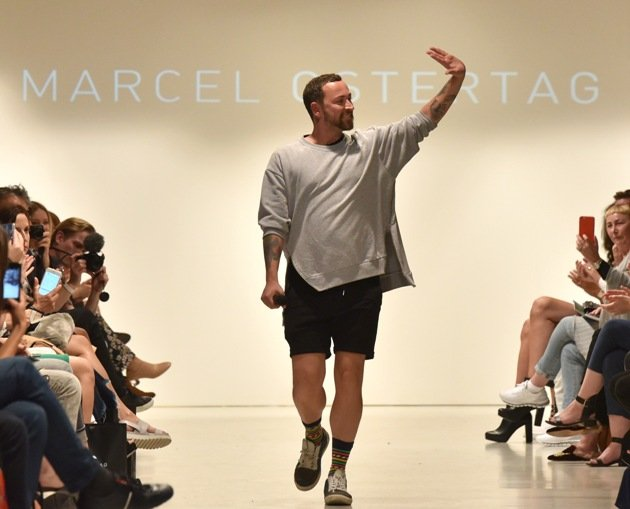 Marcel Ostertag - Der Designer zur Runway-Show Fashion Week Berlin