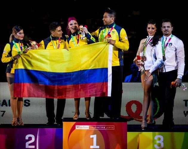 Salsa World Games 2017 Siegerehrung