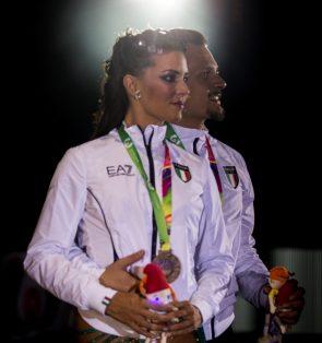 Serena Maso - Simone Sanfilippo aus Italien - Platz 3 Salsa World Games 2017