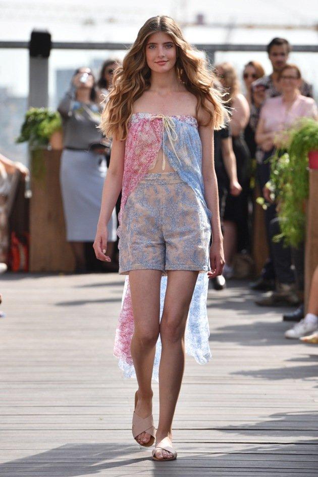 Sommermode 2018 Lana Mueller zur Fashion Week Berlin Juli 2017