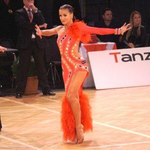 Tanzsport Ergebnis WDSF Grand Slam Hongkong 8.-9.7.2017 - hier Katharina Würrer aus Österreich