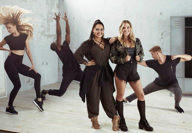 Bahar Kizil undSandy Mölling bei Dance Dance Dance 2017