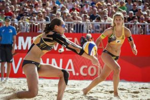 Beachvolleyball WM 2017 - Kira Walkenhorst - Laura Ludwig im Viertelfinale