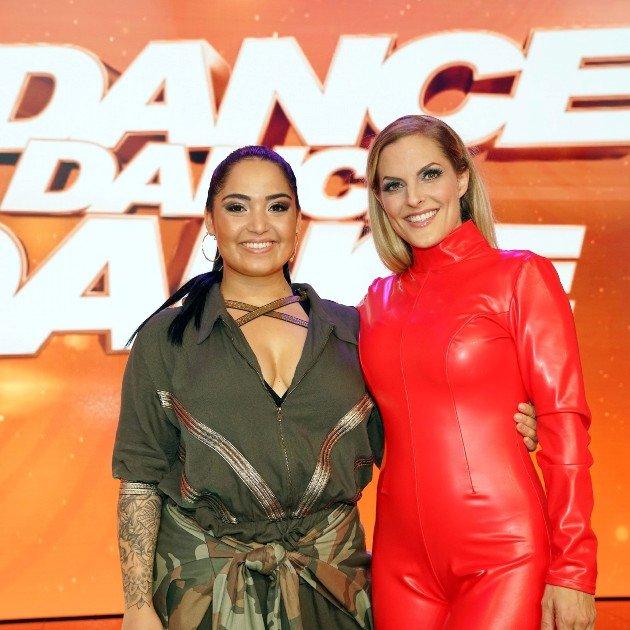 Dance Dance Dance 2017 Promis Bahar Kizil und Sandy Mölling