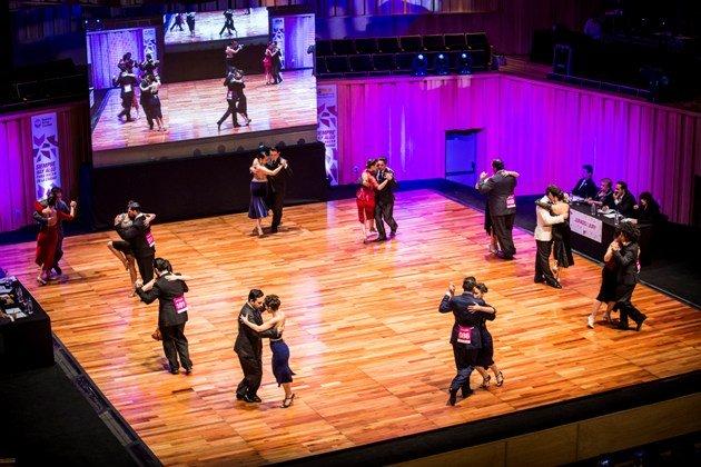 Halbfinale Tango de Pista Tango Weltmeisterschaft 2017