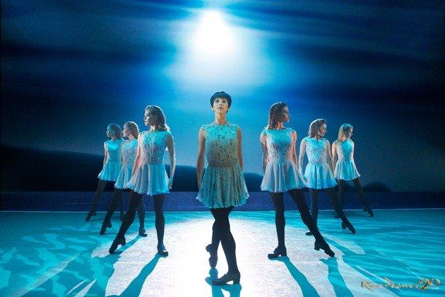 Riverdance Tänzerinnen, Mitte Anna Livia