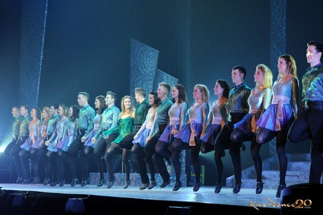 Riverdance Tour 2017 in Deutschland - Riverdance Line