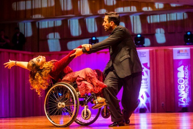 Tango-Tanzpaar Tango Escenario Tango Weltmeisterschaft 2017