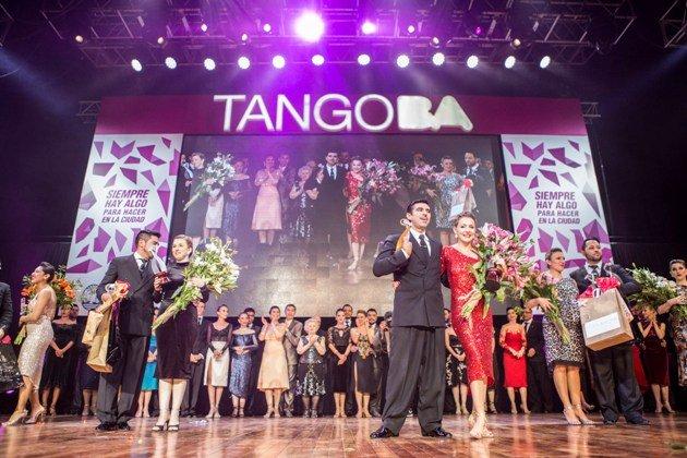 Tango Weltmeisterschaft 2017 Siegerehrung Finale Tango de Pista