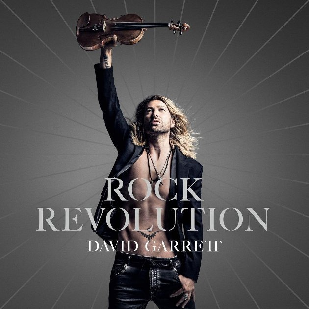 David Garrett - Neue CD Rock Revolution