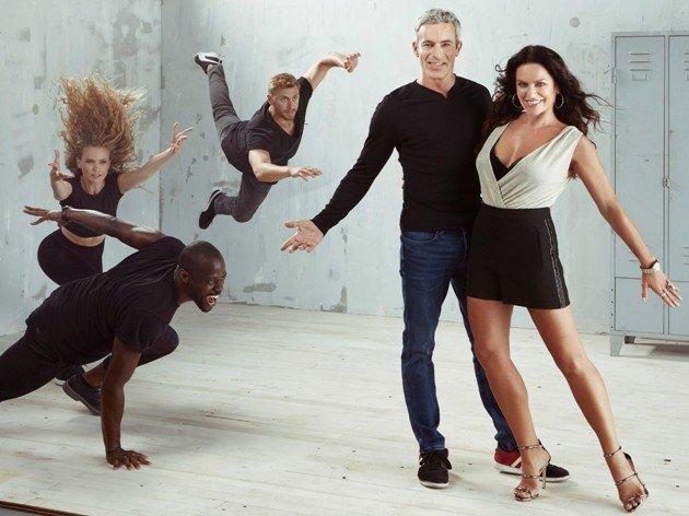 Gedeon Burkhard und Christine Neubauer bei Dance Dance Dance 2017