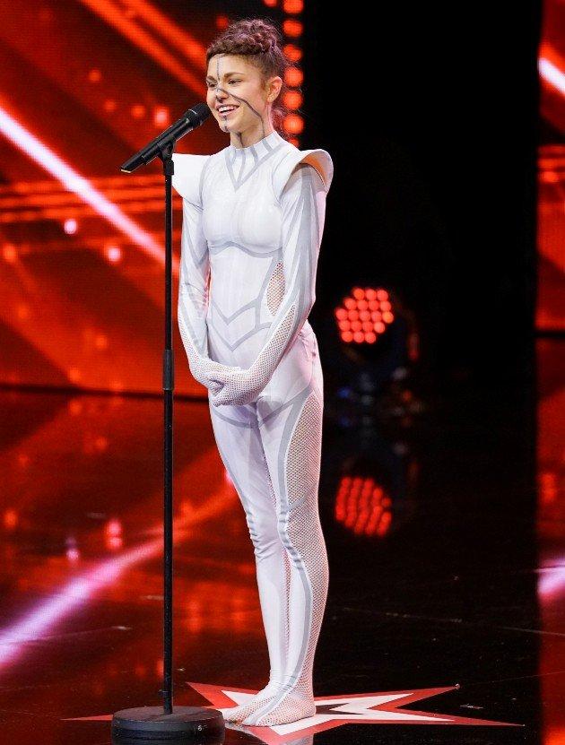 Stefanie Millinger beim Supertalent am 23.9.2017