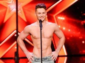 Supertalent 2017 am 23.9.2017 - Kandidaten und ein Gold-Buzzer - hier Sergey Mishchurenko