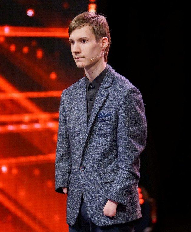 Alexey Romanov beim Supertalent am 7.10.2017