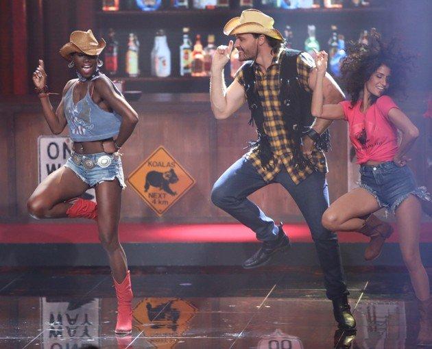 Aminata Sanogo - Marc Eggers bei Dance Dance Dance am 6.10.2017